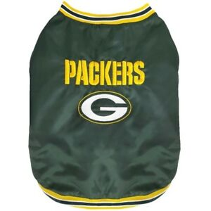 Green-Bay-Packers-NFL-Pets-First-Dog-Pet-Sideline-Jacket-Coat-Green-S-L-NWT