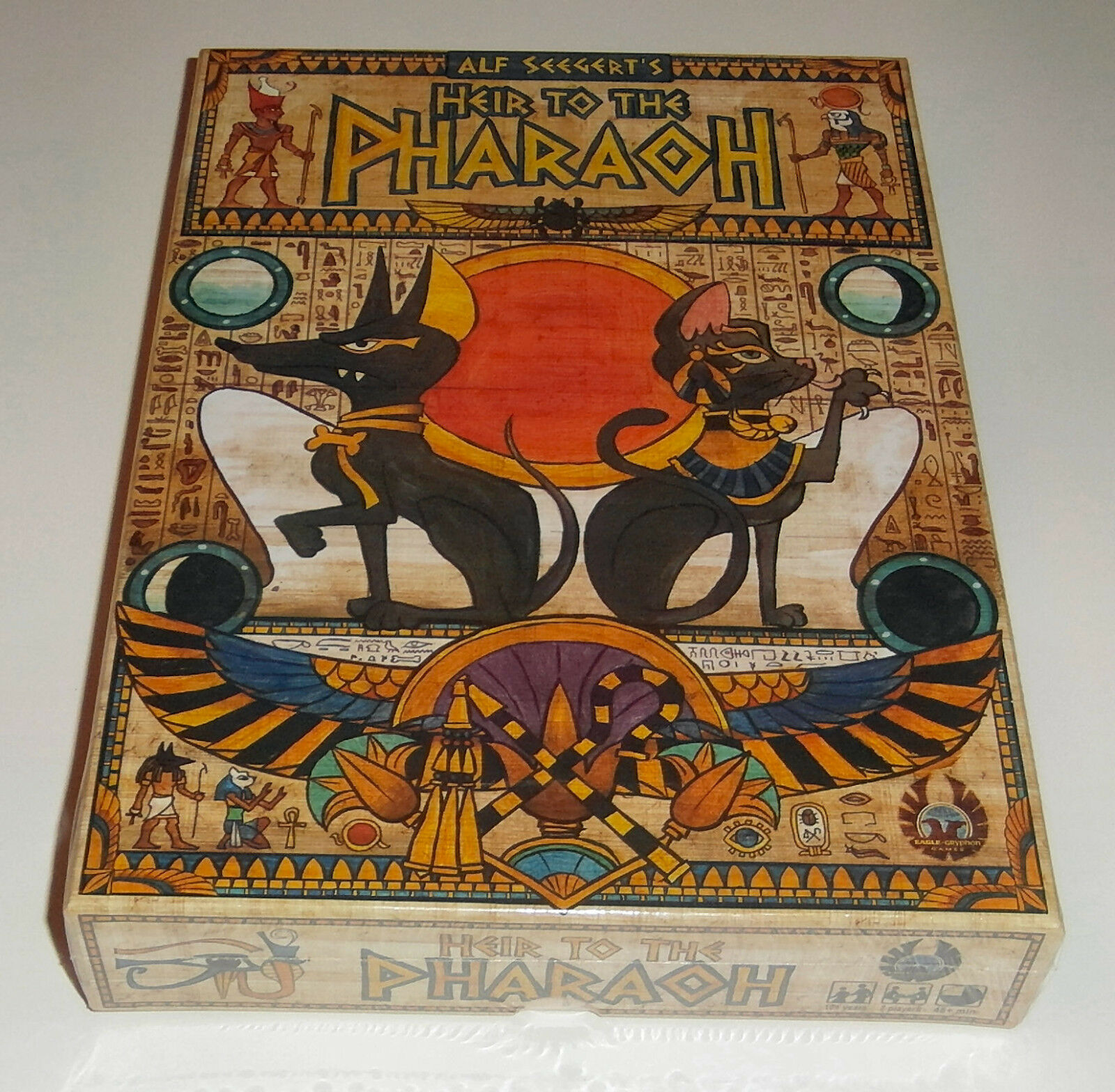Heir to the Pharaoh - Eagle-Gryphon Games - 2016