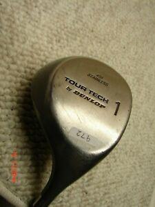 *Dunlop Tour Tech 431 Stainless Steel #1 Driver  Men's Right Hand          #972