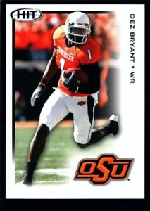 Details About Dez Bryant Mint Dallas Cowboys Rookie Card Rc Sp 2010 Sage Hit 100 Osu Gem