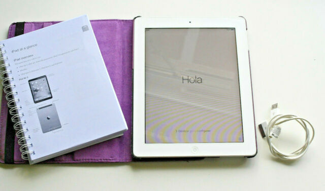 Apple iPad 2 16 Go, Wi-Fi, 9.7 in (environ 24.64 cm) - White A1395 + Extras