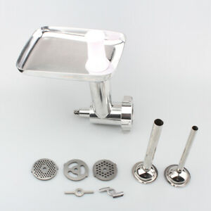 Steel-Meat-Grinder-Mincer-Sausage-Stuffer-Attachment-For-KitchenAid-Stand-Mixers