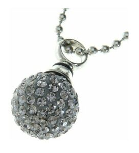 Urns-Uk-Jewellery-Keepsake-Urn-Diamante-Ball-with-Ball-Chain