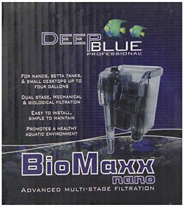 Fish-Tank-Filter-w-Adjustable-Flow-for-5-Gallon-amp-Smaller-Aquariums-Deep-Blue
