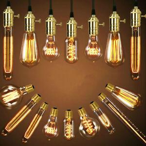 E27-Edison-Vintage-LED-Licht-Lampe-Filament-Nostalgie-Gluehbirne-Retro-Bulb-HY