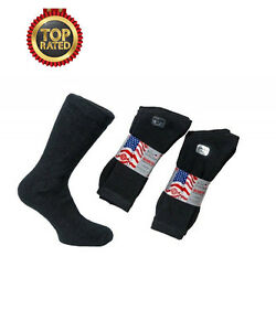 5-Pairs-Mens-Royal-Collection-WASHINGTON-Premium-Socks-Unisex-UK-6-11-BLACK