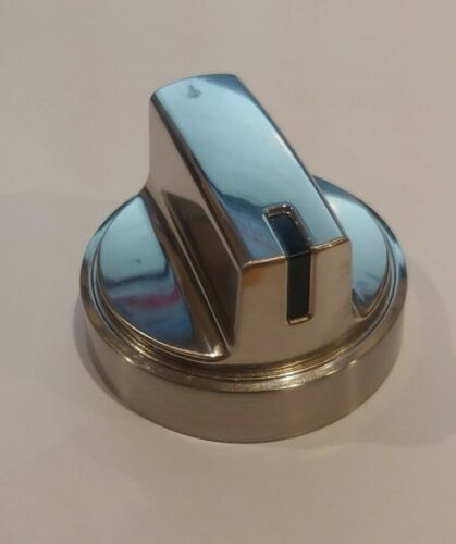 Chrome Stainless Steel  WB03X24965 OEM GE Range//Stove//Oven RANGE KNOB