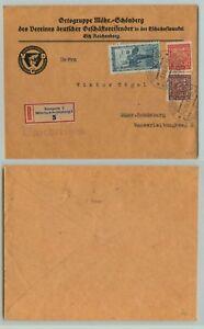 Czechoslovakia-1919-cover-Prague-d7192-1934-cover-Sumperk-used-d7211
