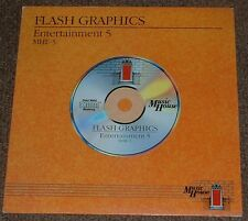 MUSIC LIBRARY MUSIC HOUSE flash graphics,entertainment 5 1988 UK SYNTH FUNK LP