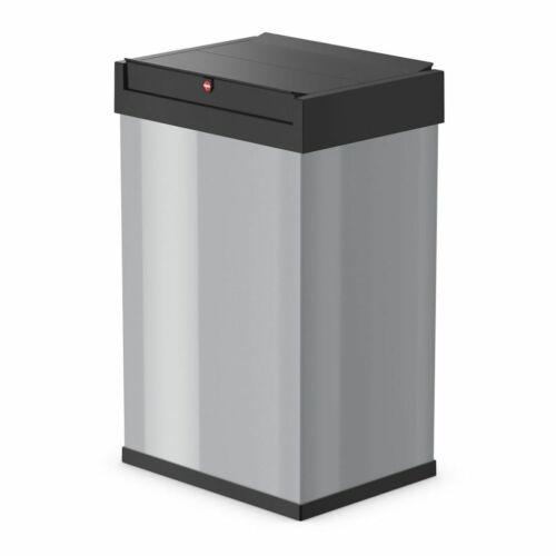 Hailo Abfallbehälter Abfallsammler Big-Box Swing Gr L 35 L Silber 0840-121