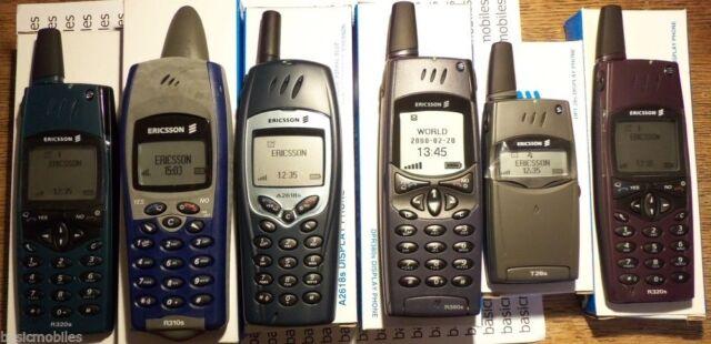 6 x Ericsson Imitación Pantalla Teléfono Móvil Modelos R320s/R310s/A2618s/R380s/