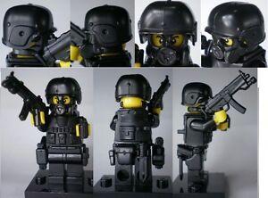 custom swat police helmet military gun army weapons LEGO minifigures no.10-4