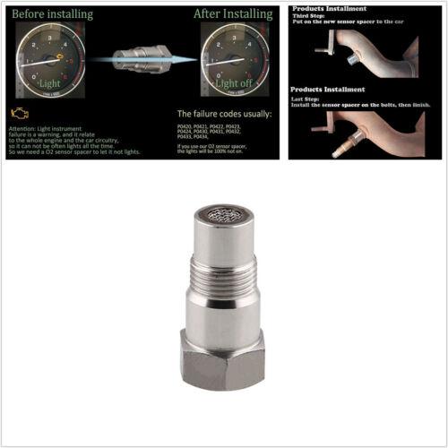 Universal Car O2 Oxygen Sensor EXTENSION Spacer Catalytic Converter M18x1.6 Fix