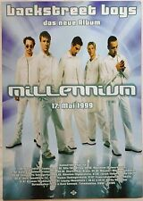 "BACKSTREET BOYS 1999 GERMAN ""MILLENIUM TOUR"" CONCERT POSTER"