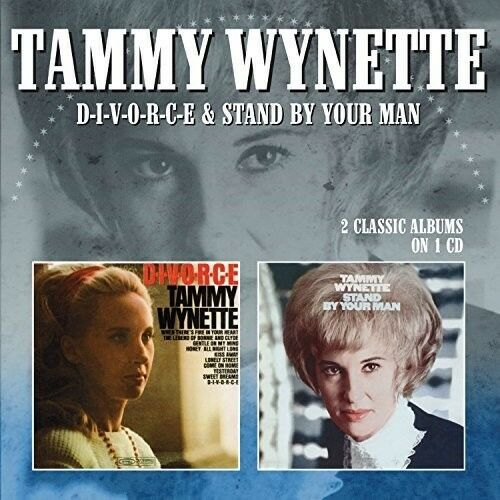 Tammy Wynette - D-I-V-O-R-C-E / Stand By Your Man [New CD] UK - Import