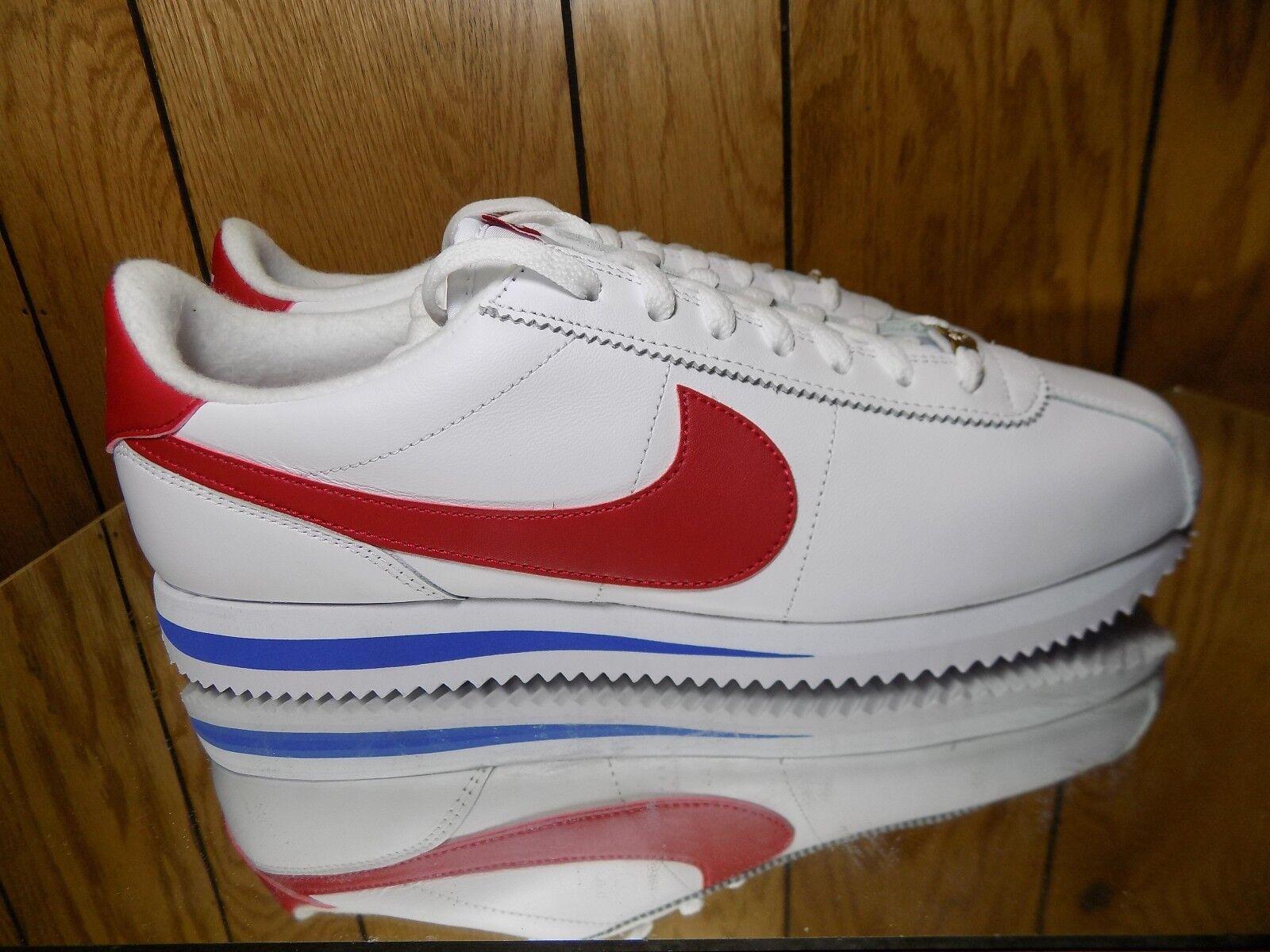 Nike cortez di classico cuoio og forrest gump classico di rtro 882254 164 sz 10,5 nuova c46090