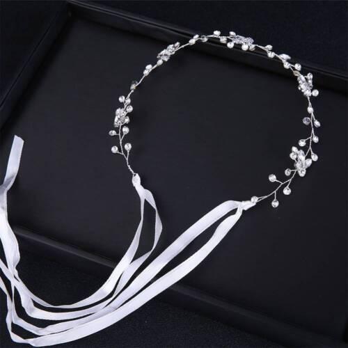 Shiny Handmade Crystal Bridal Wedding Headpiece Bride Headwear Headband Jewelry