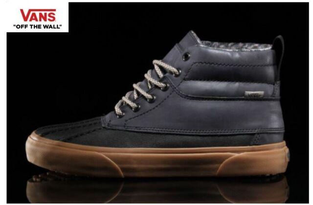 selected material high quality materials attractivefashion Vans Sk8-Hi Del Pato M (MTE) Black Sneakers,Shoes Men's VN-3496LQN