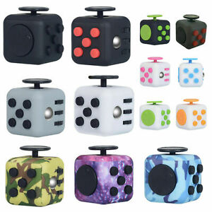 Fidget Cube Relieves Stress Anxiety Anti Stress Cube toy for Children Adult UK