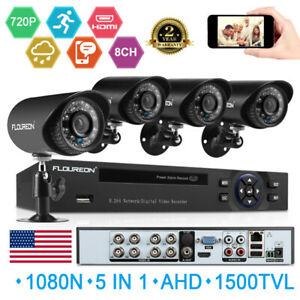FLOUREON-8CH-1080P-DVR-Video-Security-IP-Camera-System-Outdoor-IR-Night-Vision