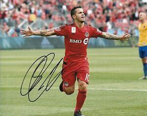97553fe70 Image is loading Sebastian-Giovinco-signed-Toronto-FC-Soccer-8X10-photo-