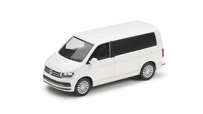 VW TRANSPORTER T6 1:87 MULTIVAN CANDY-WEIß MODELL MODELLAUTO ORIGINAL VW