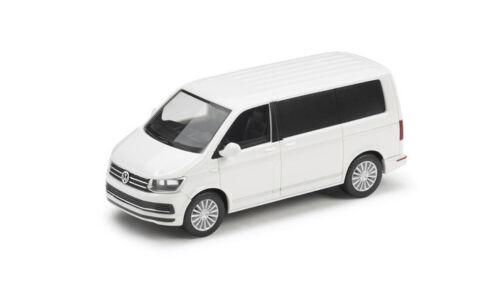 Original VW Transporter T6 Multivan Modelo 1:87 Candy Blanco 7E5099301B B9A