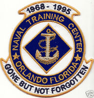 Us Navy Base Patch, Orlando Ntc, Florida, Gone But Not Forgotten Y