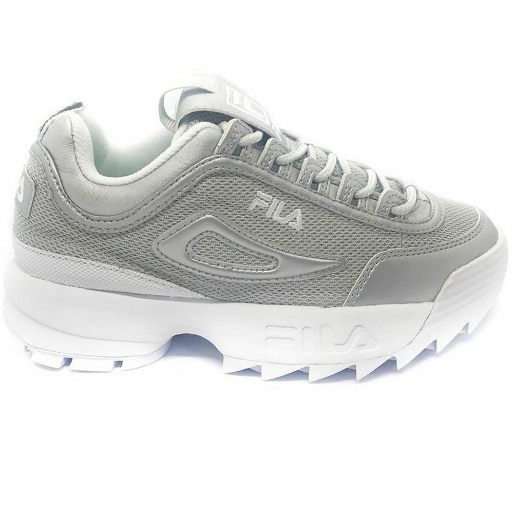 Schuhe Fila Disruptor Mm Low Wmn Silber Damen
