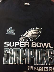 9428fb41 Super Bowl LII 52 Champions T Shirt Philadelphia Eagles Fly Eagles ...