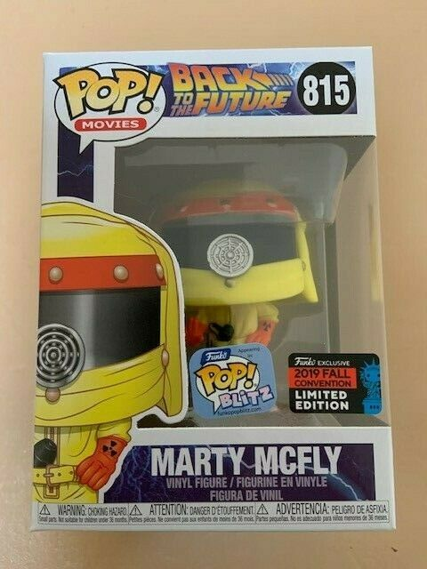 MARTY MCvolare NYCC 2019 divertiessitoko Pop Vinyl nuovo in Mint scatola  Prossoector