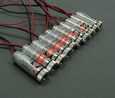 650nm 5mW Red Cross Line Laser Module/12x30mm/Industrial Locate Laser/10 pcs