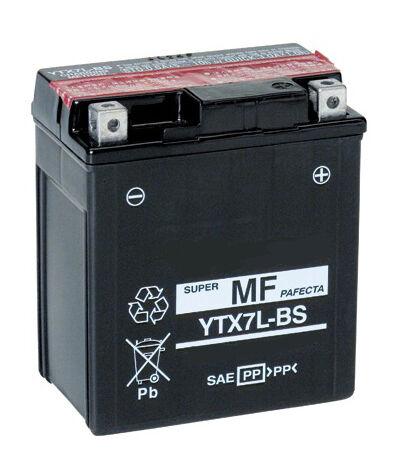 Batterie FRANCE EQUIPEMENT CBTX5L-BS YTX5L-BS YTX5LBS 12V 4Ah Moto Scooter Quad