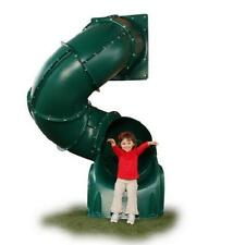 5 foot Green Turbo Tube Slide Playground Large Attachment Spiral Tunnel NEW