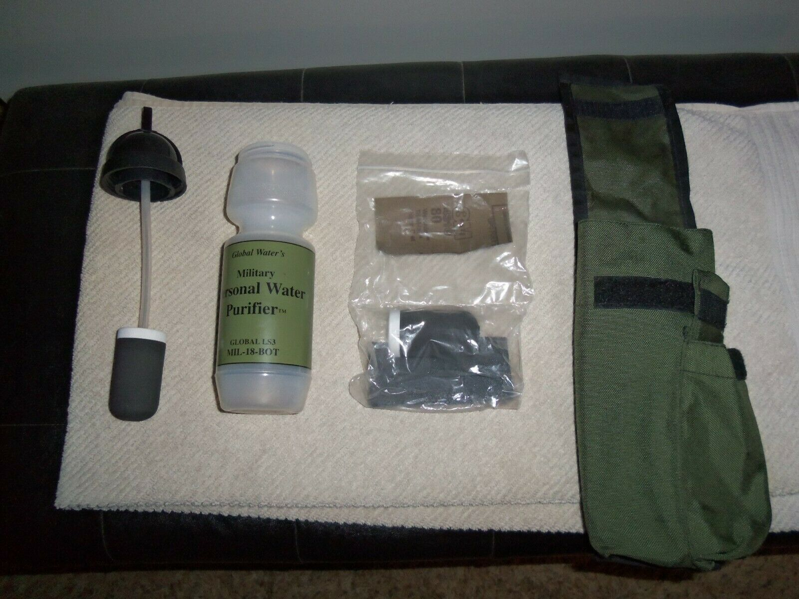 Military Personal  water purifier. Global Water's. made in USA.  with 60% off discount