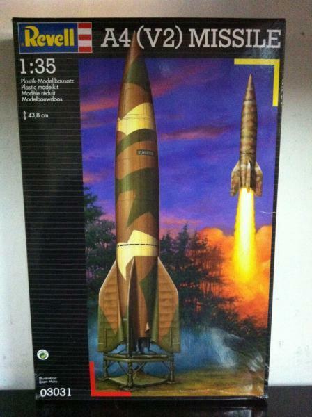 Revell Modell Kit 1 35 031 A4 ((V2) MISILE 3031 MIB, 1998