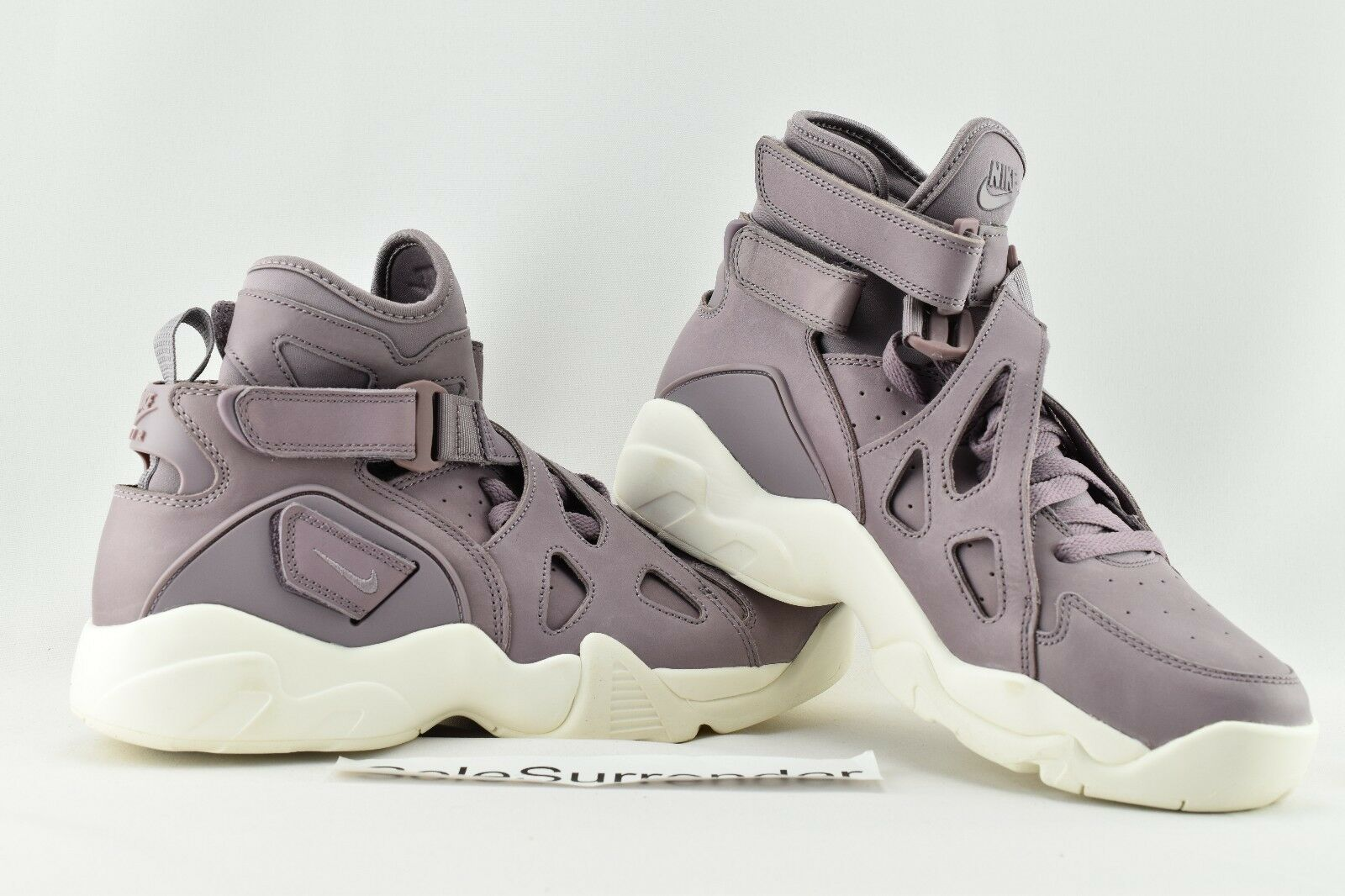 NikeLab Air Unlimited - SIZE 9.5 - Smoke NEW - 854318-551 Purple Smoke - Sail White Lab aebbd3