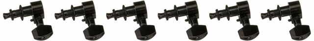 Ping P2659 6-In-Line Screwless Mount Geared Tuners, Black