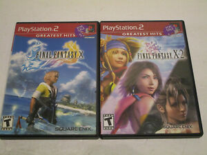 Final-Fantasy-X-amp-X-2-for-Ps2-Complete-in-Very-Good-Condition-With-Manual