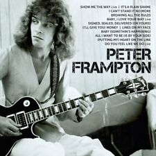 PETER FRAMPTON - ICON Best of Inc some live tracks (New CD) Greatest Hits Rock
