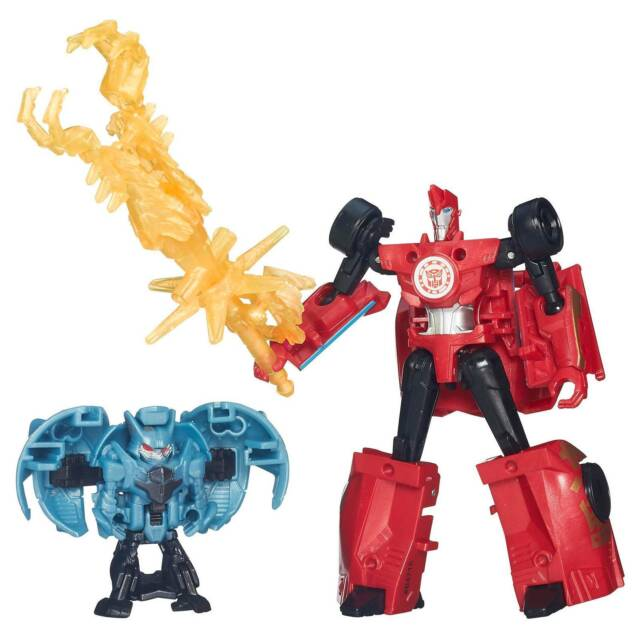 Transformers Animated Armored Decepticon Hunter Sideswipe Hasbro Neu und OVP