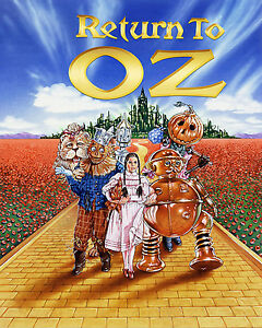 VINTAGE THE WIZARD OF Oz A4 POSTER PRINT