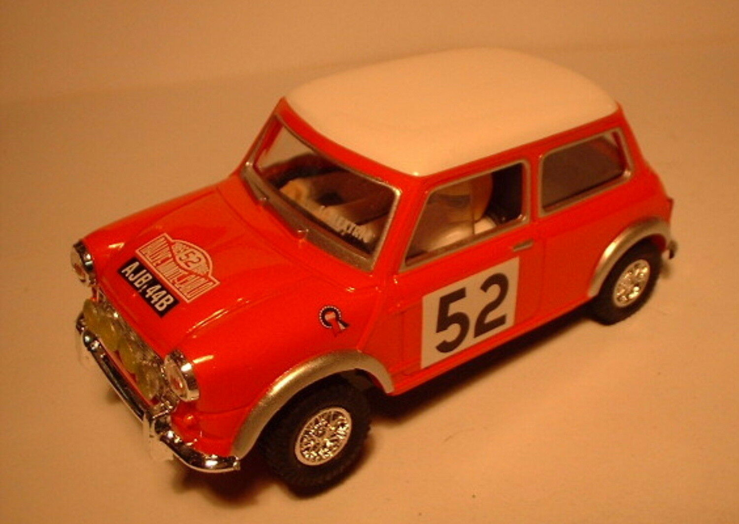 Qq SCX SPAIN PLANET CARS MYTHICAL MINI COOPER does not 52 RED LTED. ED