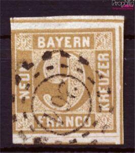 Bavière 11 Exemplaire Normal Oblitéré 1862 Paragraphe Dans District (9253409