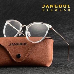 8dee49e3e8f8c New Glasses Men Women round metal Eyeglass Frames Vintage Spectacles ...