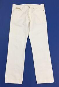 Messagerie-jeans-uomo-usato-W34-tg-48-slim-gamba-dritta-straight-boyfriend-T4663