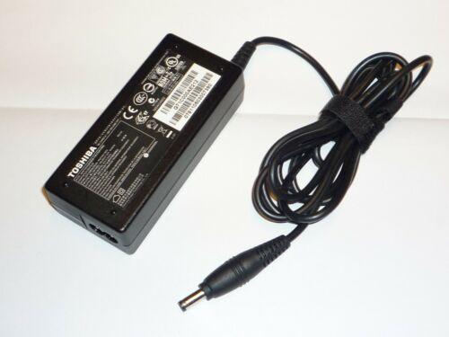 Genuine TOSHIBA Adaptador Adaptador Fuente de alimentación 19V 3.42A PA3714U-1ACA