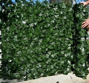 Best Artificial English Ivy Leaf Screening 3m x 1m Hedge Wall Garden Fence Roll