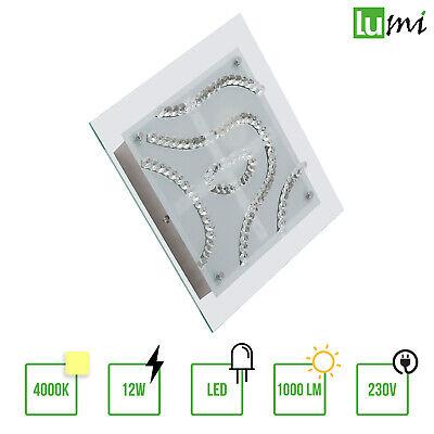 LED Deckenleuchte Deckenlampe Wohnzimmer Küchen Eszimmer Lampe Eckig 18W