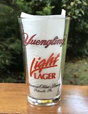 Vintage NOS Yuengling Drinking Dogs Logo Beer Pint Glass Americas Oldest Brewery